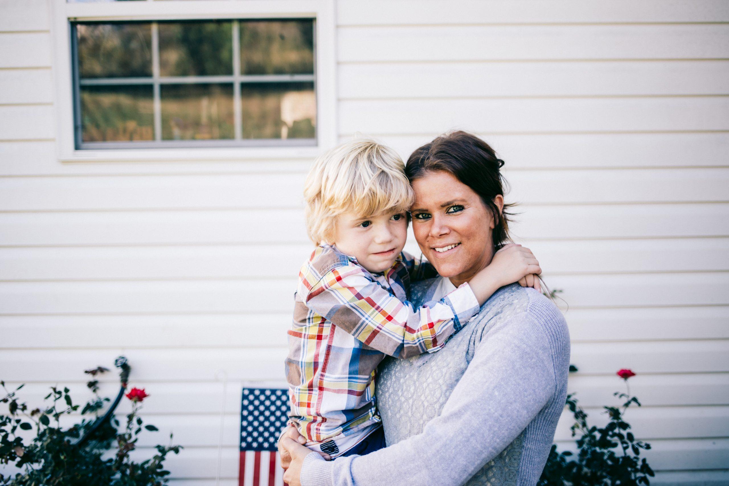 Danielle McKain and her son, Jameson